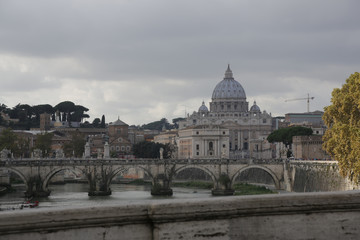 Rom, Petersdom, Tiber