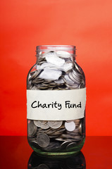 Charity Fund - Financial Concept