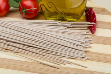 Soba - buckwheat pasta