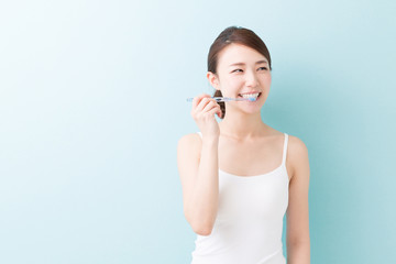 美容 歯磨き