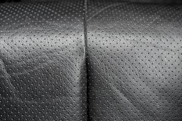 alter Ledersitz Close-up