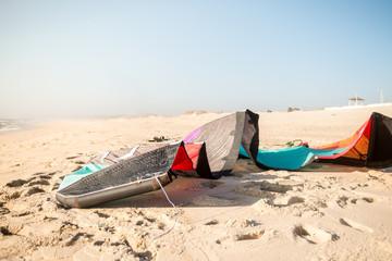 Kite on the sand