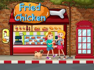 Fried chicken shop