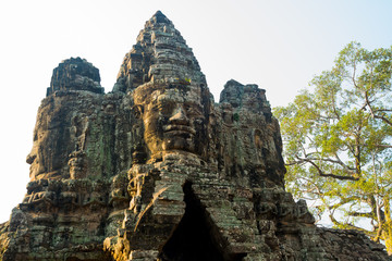 North,South bridge. Angkor.