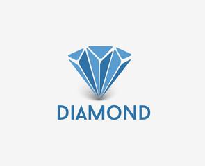Diamond Logo, vector design