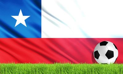 The National Flag of Chile