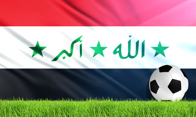 The National Flag of Iraq
