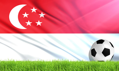 The National Flag of Singapore