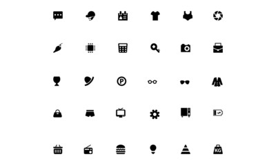 Mini Vector Icons 17