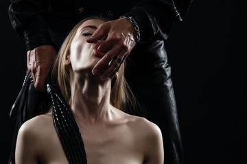 Obraz couple playing sexual games - fototapety do salonu