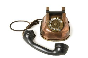 Old Metallic Phone