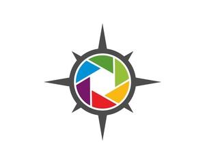 photography compass logo