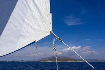 Sails over blue Sky