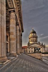 französische Dom und Konzerthaus am Gendarmenmarkt in Berlin