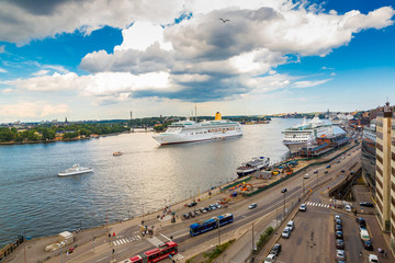 Cruise Ship in Stockholm,