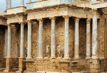 Roman Theatre at Merida. Spain
