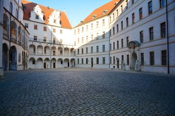 Innenhof vom Schloss in Neuburg an der Donau