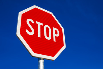 Stop Sign as Traffic Signalization