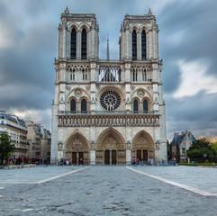 Photo sur Aluminium Monument Cathédrale Notre-Dame de Paris