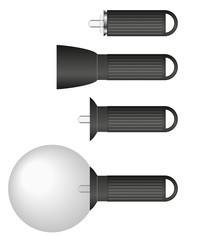 Fotostudio Symbole Grafiken Studioblitz Spezial