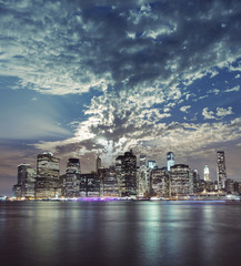 Beautiful New York City Manhattan view