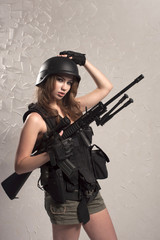 girl soldiers