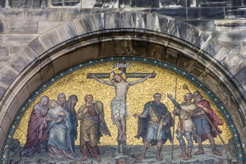 Christian icon of Christ crucifixion, Bremen