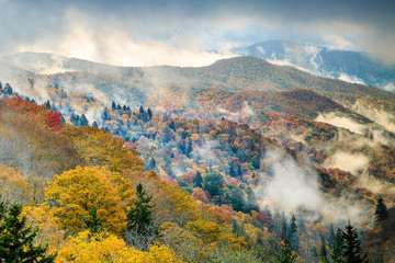 Great Smoky Mountains National Park - Newfound Gap