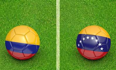 2015 Copa America football tournament, Colombia vs Venezuela