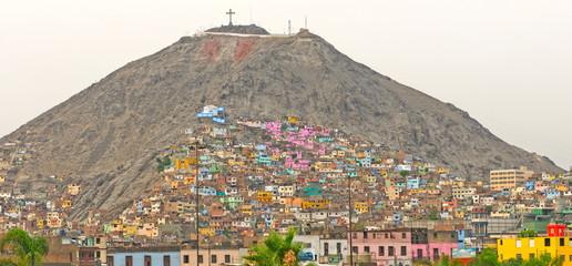 Barrios on an Urban Hill on Latin America