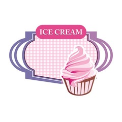 Logo Ice Cream Sandwich Drink Lovely Lollipop Pink Kids