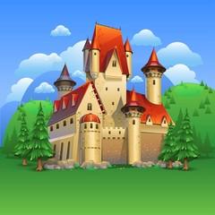 Castle landscape