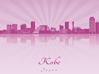 Kobe skylinein purple radiant orchid