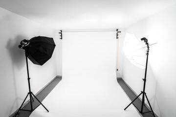 Amateur home made photo studio