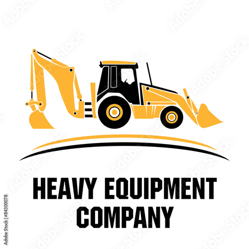 quotheavy equipment logo icon vectorquot stock image and royalty