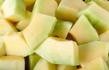 Close up Thai cantaloupe melon background