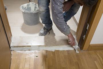 Repairing Doorstep