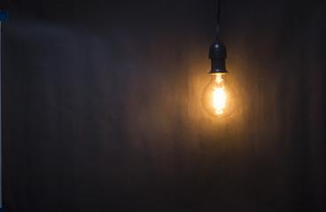 Vintage Lightbulb Hanging