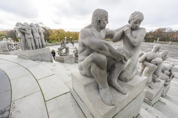 Vigeland Park in Oslo, Norway