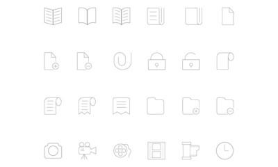 Line icons 4