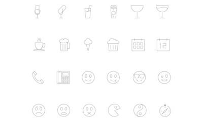 Line icons 8