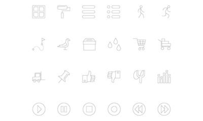 Line icons 19