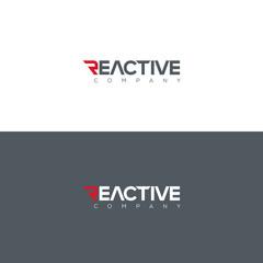 Vector graphic Reactive typography symbol