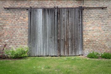Old wooden door - wood texture