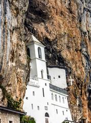 Church of Christian monastery Ostrog, Montenegro