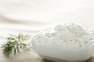 Homemade cottage cheese cream