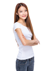 Asian student girl portrait