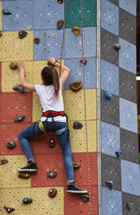 arrampicata palestra bambini