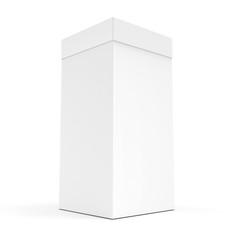 3d blank product box packaging
