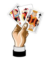Vector game card illustration